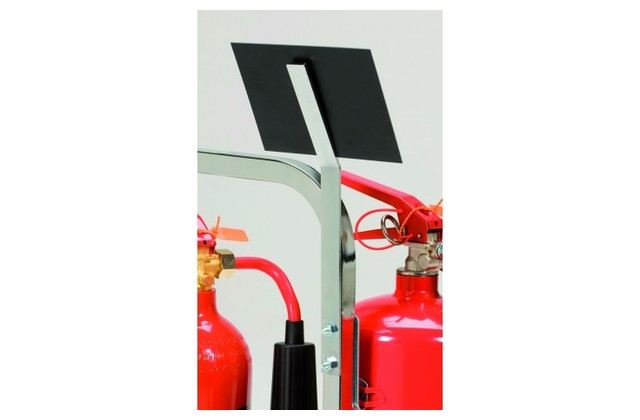 Metal Sign Bracket for Metal Fire Extinguisher Stand