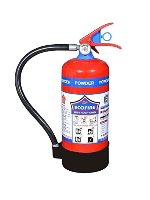 Eco Fire Dry Chemical Powder (DCP) Type Fire Extinguisher 6KG